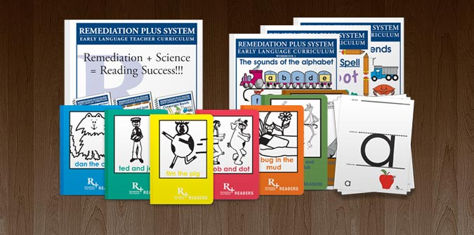 Remediation Plus reading products